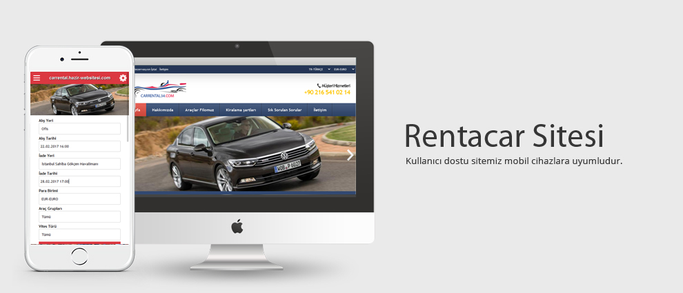 Rent a Car Sitesi